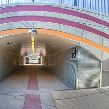 Santa Clara Station Pedestrian Undercrossing