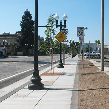 Sunnyvale Downtown Streetscape