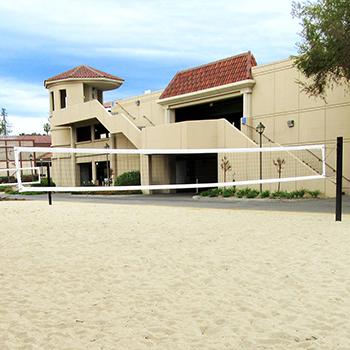 Santa Clara University Collegiate Volleyball Court