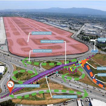US 101 / De La Cruz / Trimble Interchange Improvements